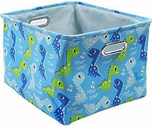 Znvmi Collapsible Storage Basket Canvas Fabric