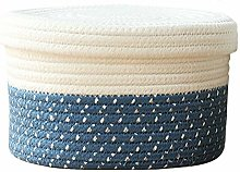Znvmi Cotton Rope Basket Small Storage Container