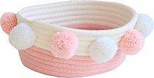 Znvmi Cotton Rope Basket Woven Small Storage