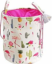 Znvmi Foldable Laundry Hamper Cylindrical
