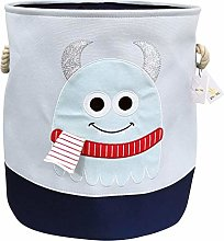 Znvmi Kids' Toys Storage Basket Canvas Thicken