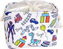 Znvmi Kids' Toys Storage Basket Foldable