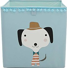 Znvmi Kids Toys Box Collapsible Fabric Storage