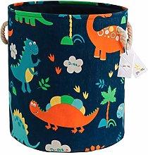 Znvmi Large Canvas Storage Basket Children's