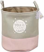 Znvmi Large Collapsible Laundry Basket Canvas