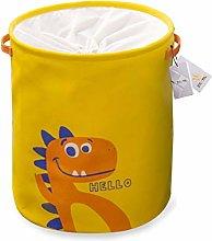 Znvmi Toy Storage Basket Canvas Kid Baby Laundry