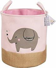 Znvmi Toys Storage Basket Thicken Fabric Laundry