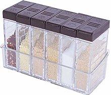 ZNZN Storage Jars Spice Shaker Jars, Seasoning