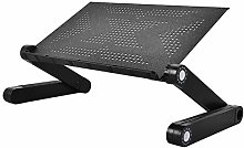 ZOBOLA Adjustable Laptop Table Stand Portable Use
