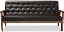 Zoee 3 Seater Sofa Blue Elephant Upholstery
