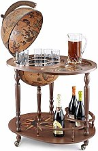 Zoffoli Art 44/4 Bar Globe Drinks Cabinet with