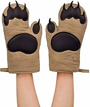ZOKOP Bear Paw Oven Gloves Insulated Silicone