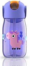 Zoku Drinks Bottle, Purple, 400ml