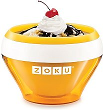 Zoku ZK120-OR Ice Cream Maker, Stainless_Steel,