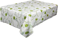 Zolimx Waterproof Oilproof Plastic Tablecovers