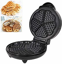 ZOMINMMB Heart Waffle Maker- Non-Stick Waffle