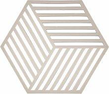Zone Denmark Hexagon Silicone Trivet – Warm Grey
