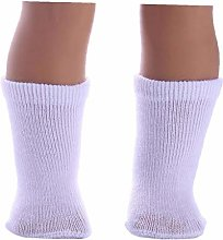 Zonfer 1 Pair Cheap White Socks Dolls Ankle Sock