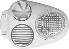 Zonfer 3 in 1 Egg Slicer Stainless Steel Slicing