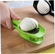 Zonfer Handheld Egg Cutter Stainless Steel