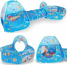 Zonfer Kids Play Tent 3 in 1 Pop Up Tent Toddlers