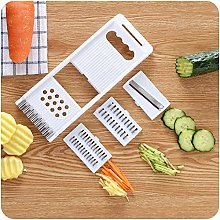 Zonfer Vegetable Cutter with Stainless Steel Rack