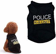 Zongha Dog Coat Dog T Shirt Kitten Clothes French