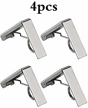 ZONJIE Picnic Tablecloth Clips, Stainless Steel