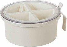 ZOOMX Multi-grid Spice Jar Round Seasoning Box