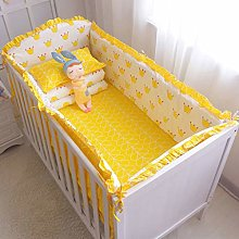 ZOOMY 5Pieces Baby Bedding Set Washable Toddler
