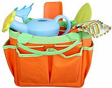 ZOOMY 8pcs/set Mini Gardening Tool with Tote Bag