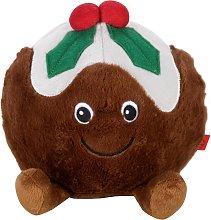 Zoon Jumbo Christmas Pudding Dog Toy