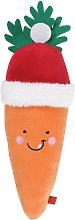 Zoon Jumbo Santa Carrot Dog Toy