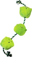 Zoon Tuga Sprouts Festive Dog Toy