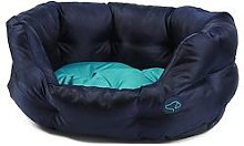 Zoon Uber-Activ Oval Pet Bed - Navy