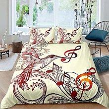 Zooseso® Bedding Duvet Cover Set, 3D Bedding Easy