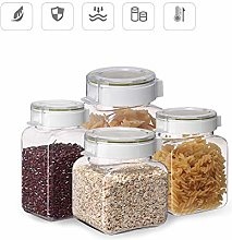 ZOOTUI Cereal Storage Containers, Glass Storage