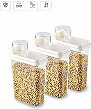 ZOOTUI Plastic Storage Containers, Cereal