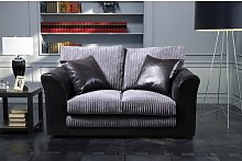 Zora Loveseat Marlow Home Co. Upholstery: Grey