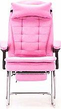 ZoSiP Meeting Room Office Chair Pink Color Ladies