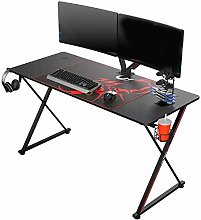 ZOULME Gaming Desk Computer Table,X Shaped