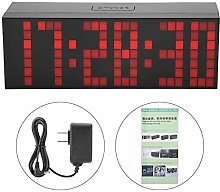 Zouminyy Digital Alarm Calendar, 6 Digit Jumbo LED