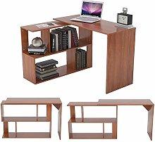Zoyo L Shape Computer Desk for Small Spaces 360°