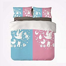 Zozun Duvet Cover Set Gender Reveal Decorations