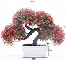 ZPEE Artificial Trees TV Cabinet Decoration Living