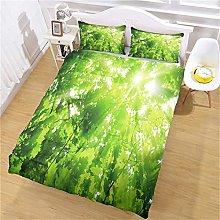 ZPOEQW Duvet Cover Sets Single Bed 135X200cm 3 Pcs