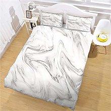 ZPOEQW Duvet Covers Double Bed 200X200cm 3 Pcs