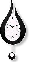 ZQD Kitchen Wall Clock with Pendulum,Modern