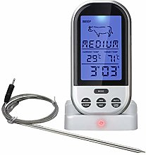 ZQDL Electronic Food Thermometer,BBQ