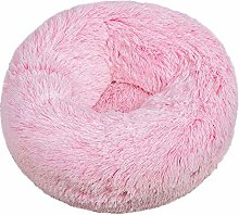 ZQIAN Pet Bolster Bed Super Soft and Cosy Warm